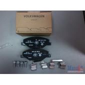 Колодки тормозные передние (с 2011г) для Volkswagen Polo